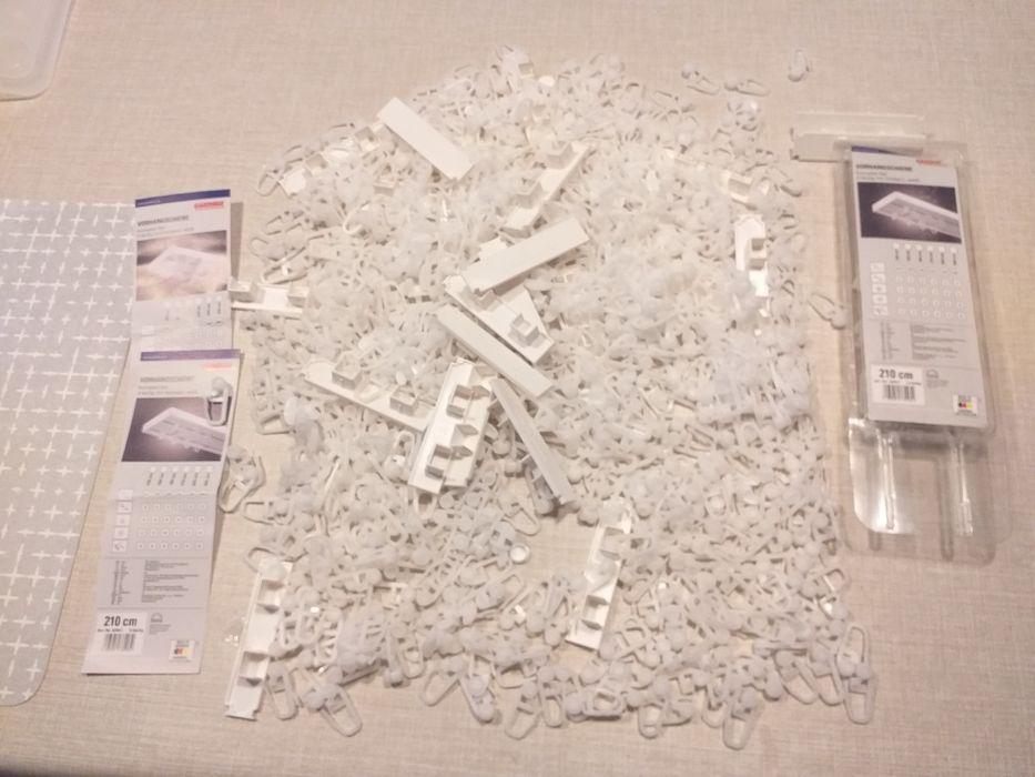 Gardinia agrafki do karniszy i zaskepki nowe rozpakowane 8opakowan min Milanówek - image 1