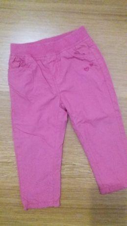 Spodnie ocieplane różowe Cool Club 86