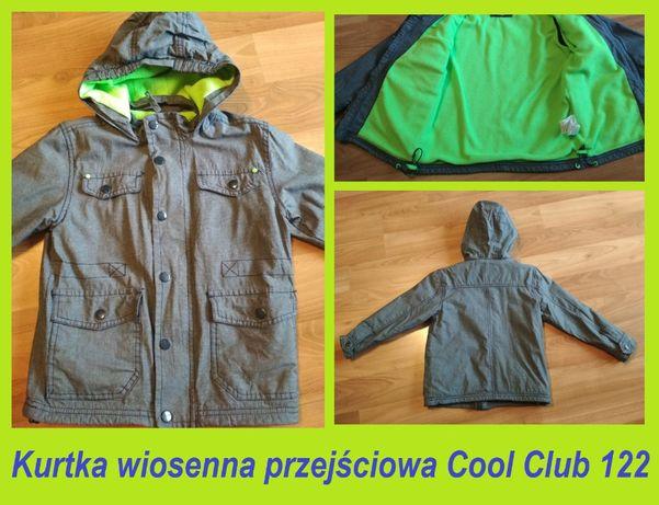 Cool club - kurtka wiosenna przejściowa chłopięca rozm 122