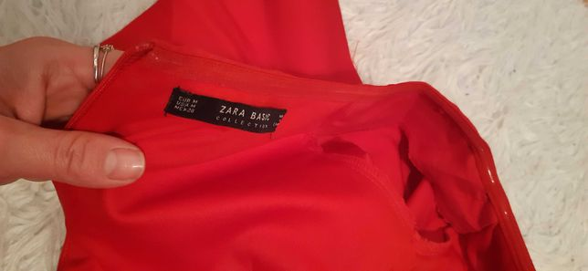 sukienka hiszpanka Zara M