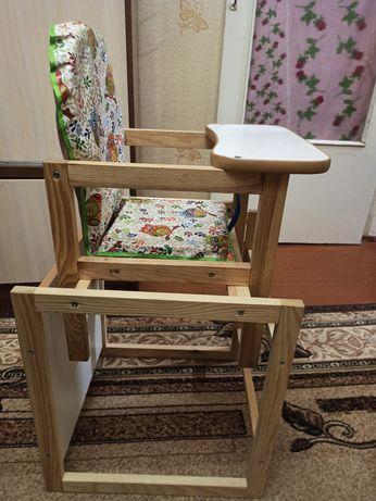 Стул (стульчик) для кормления + стол (стілець для годування + стіл)