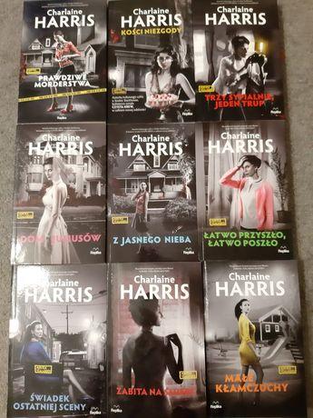 Seria 10 książek Charlaine Harris o Aurorze Teagarden