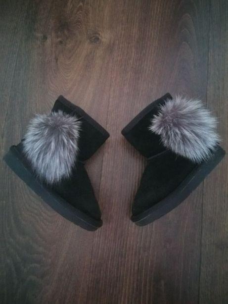 Угги сапоги сапожки зимняя обувь для девочки 28р