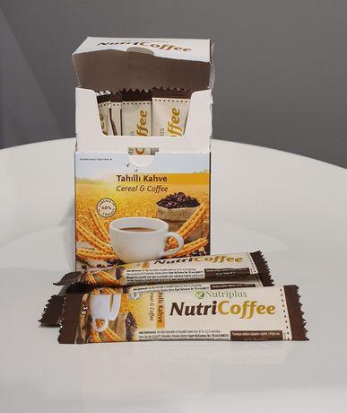 Kawa Zbożowa Instant w Saszetkach Nutriplus Nutricoffee Farmasi Wit. E