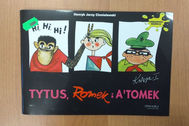 Komiks Tytus Romek i Atomek, księga I / 1 / 2009.