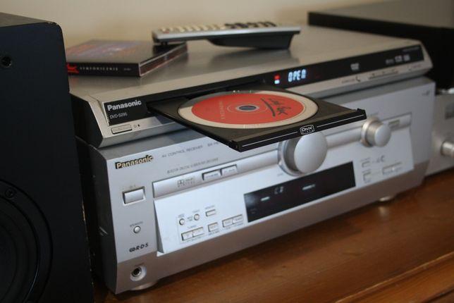 Panasonic kino domowe i świetne stereo + pilot