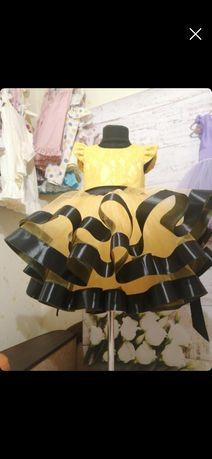 Нарядное платье, костюм пчелки