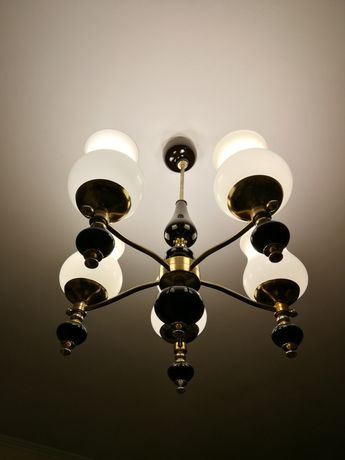 Komplet lamp żyrandol lampa podłogowa nocna lampka klasyczny