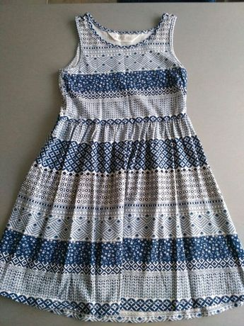 Bawełniana sukienka H&M - 110/116