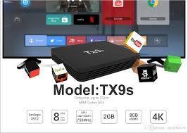 Smart tv iptv box S912 Tanix TX9s смарт тв андроид приставка 2800 руб