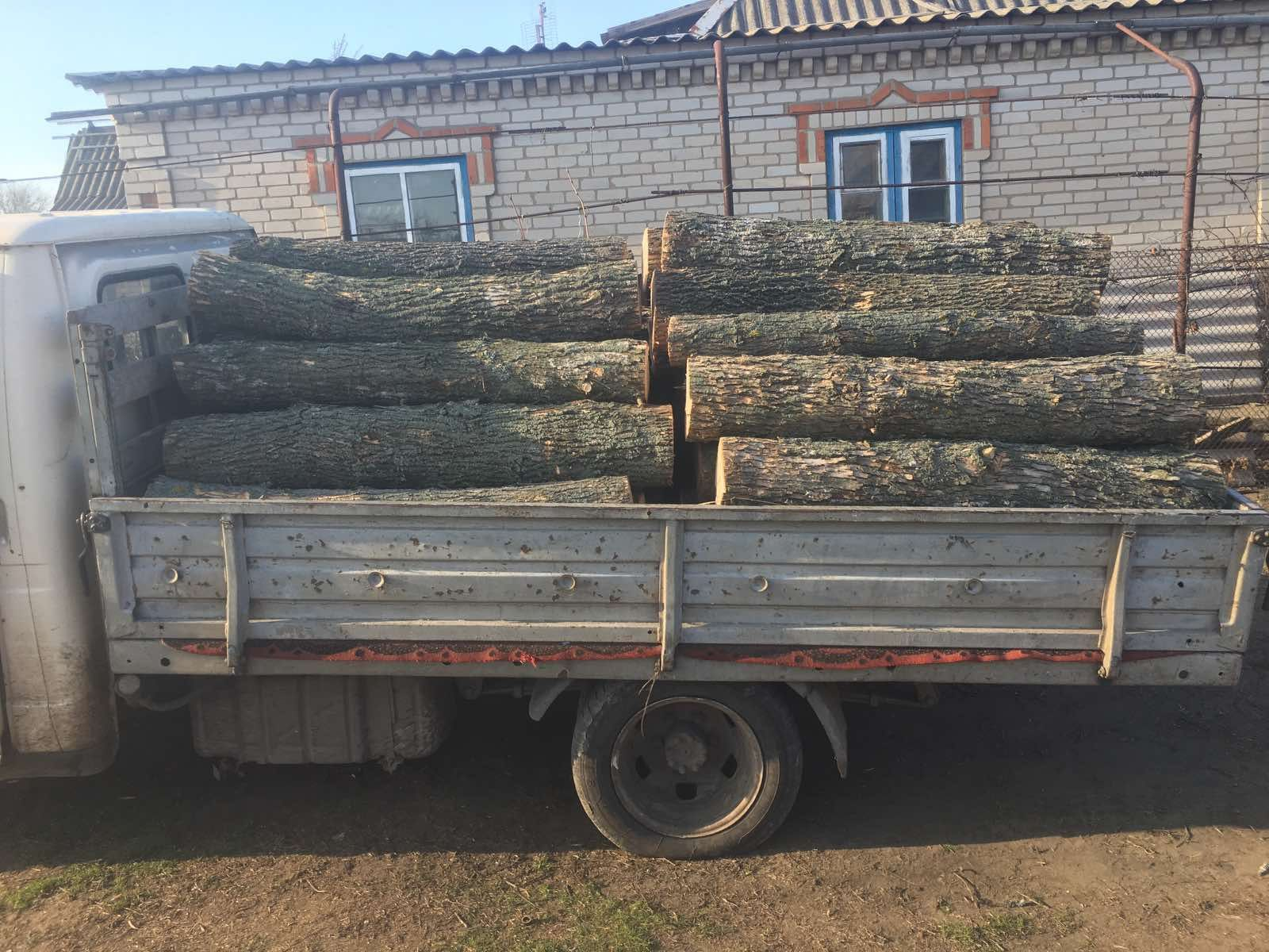 Продам дрова твердых газель
