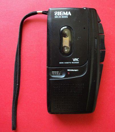 Диктофон кассетный в новом состоянии