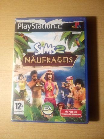 Jogo PlayStation 2 (PS2) SIMS 2 Náufragos