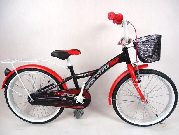 Rower chłopięcy KANDS TWISTER 20'' czerwony