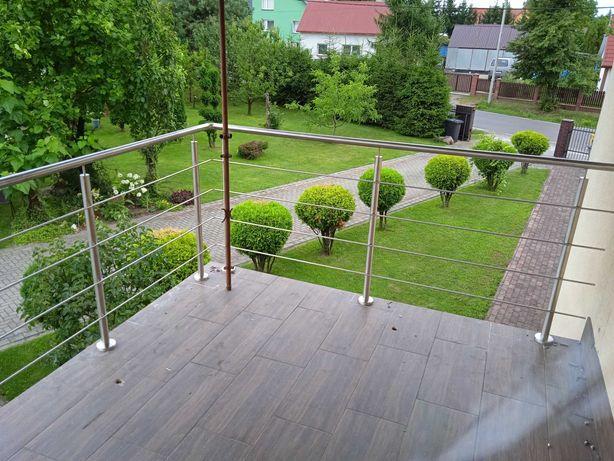 balustrady ze stali nierdzewnej balustrady balkonowe schodowe okienne