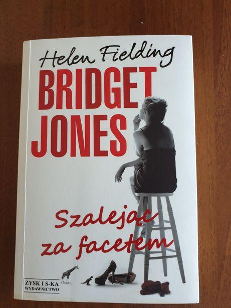 """JAK NOWA! H. Fielding """"Bridget Jones. Szalejąc za facetem"""" NA PREZENT!"""