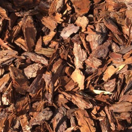 Kora sosnowa - średnia frakcja 1-4cm sortowana worek 80l PROMOCJA