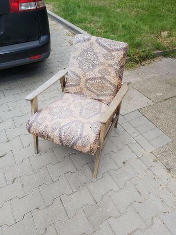 Fotel prl fotel klubowy fotel lis