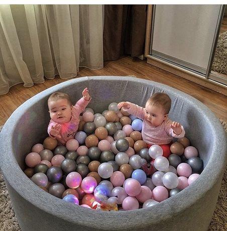 Сухой бассейн Maikinbaby с шариками 200 шт