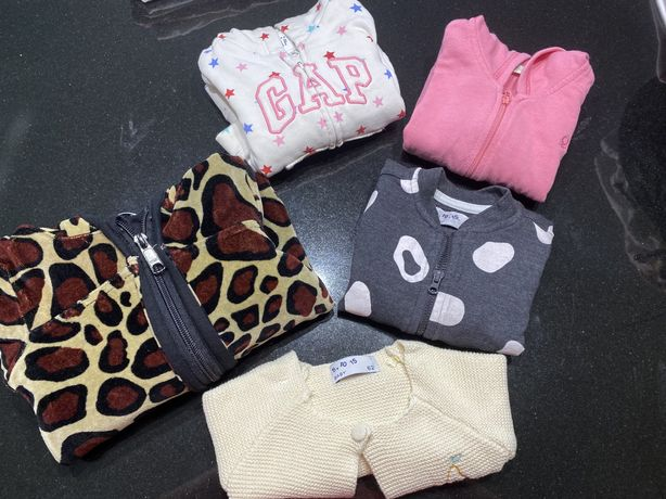 Bluzy i kombinezon dla dziewczynki
