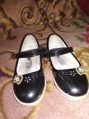 Туфли лодочки лакированные