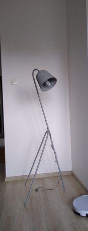 Lampa podłogowa Loft- szara
