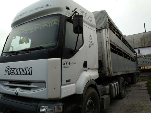 Услуги перевозки, скотовоз