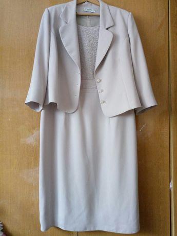 Garsonka sukienka + żakiet