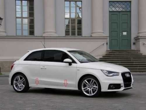 Difusor + Embaladeiras (saias laterais) S Line Audi A1