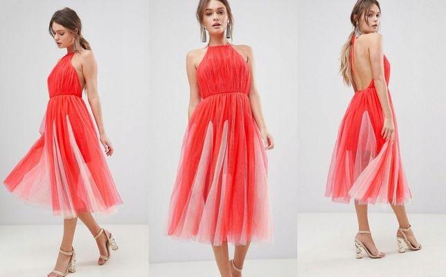 Sukienka tiulowa xs