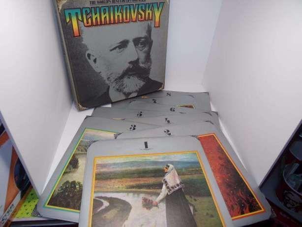 Tchaikovsky caixa com 8 discos vinil