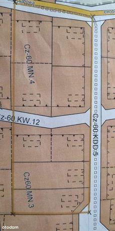Sprzedam działkę pod budowę 9 domów dwulokalowych.
