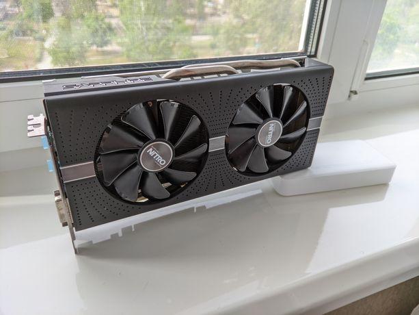 Продам AMD Sapphire Radeon RX 580 Nitro+ 4GB GDDR5 (256bit)