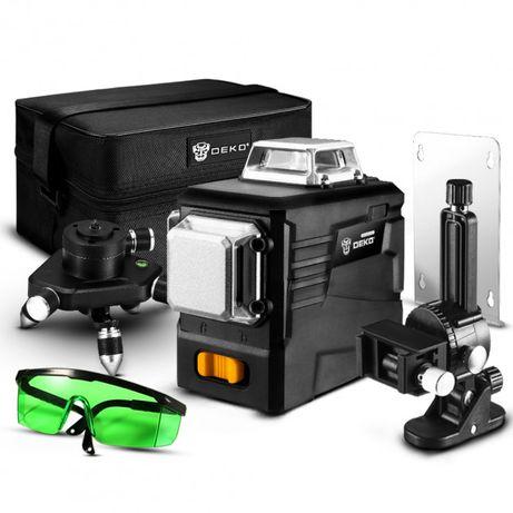 DEKO DKLL12PB2 3D 12 линий лазерный уровень нивелир тренога кронштейн