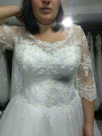 Сукня нареченої ( розмір48-52)торг