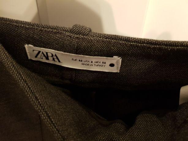 Spodnie materiałowe ZARA r.40