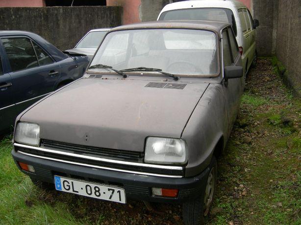 Renault 5 1982 com documentos