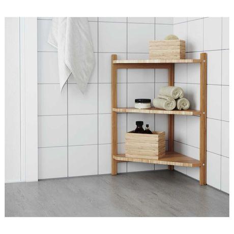 RAGRUND Estantes de canto/lavatório IKEA