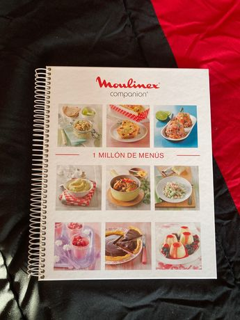 Livro Moulinex CC Cousine Companion  espanhol