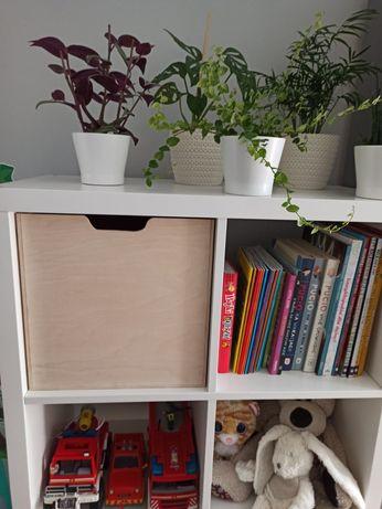 Drewniany wkład pasujący do regału Kallax IKEA