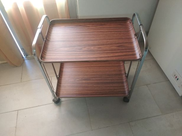 Mesa da 2 tabuleiros fixos