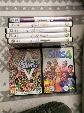 The sims 3 oraz dodatki
