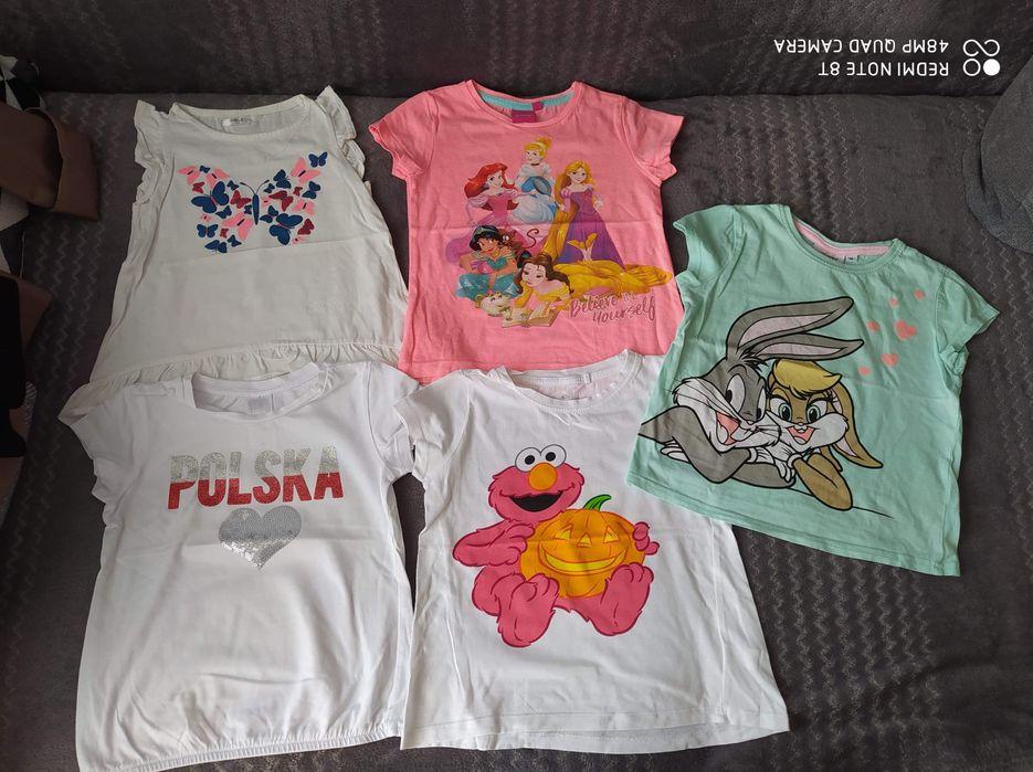 Bluzeczki rozmiar 104 Łuków - image 1