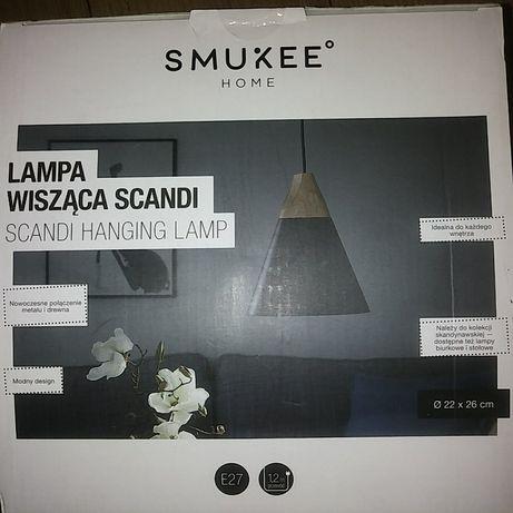 Lampa wisząca scandi żyrandol styl skandynawski oprawa