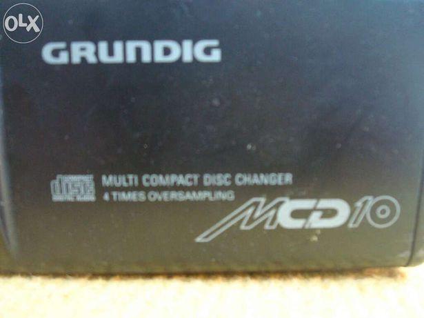 Caixa 10 cd's Grundig em bom estado