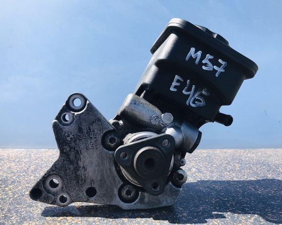 Гур BMW Е46 М57 3.0 d Насос гидроусилителя БМВ гідропідсилювач ZF шрот