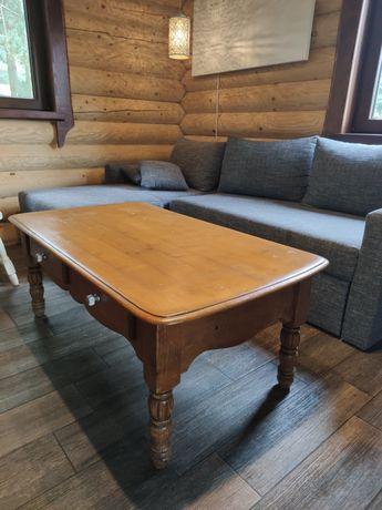 Ława stolik kawowy drewniany