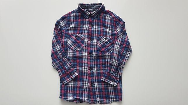 Koszula firmy Rebel rozmiar: 104 Stan: IDEALNY!!!