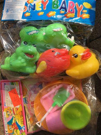 Gumowe zabawki