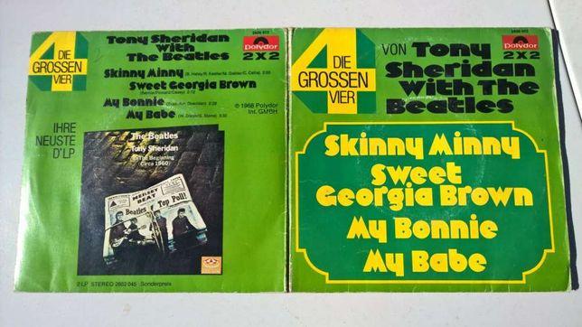 2 discos vinil Beatles com Tony Sheridan